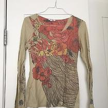 Pretty Floral Design Shirt From Express Photo