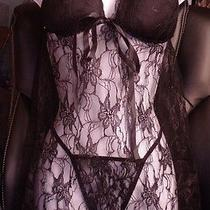 Pretty Lingerie Set- Baby Doll Top & Panty - Size Xl/xxl Photo