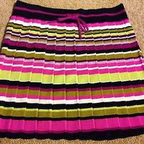 Pretty Missoni for Target Size Xl Girls Multi-Colored Stripe Sweater Skirt Photo