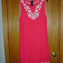 Pretty Woman's red.white Shift Dress by Grace Elements Size Large Photo