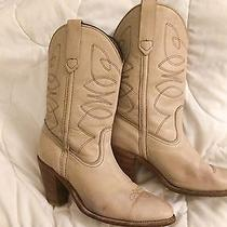 Price Drop Vintage Beige Frye Boot 9 Photo