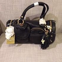 Price Lowered Juicy Couture Black Leather Handbag Photo