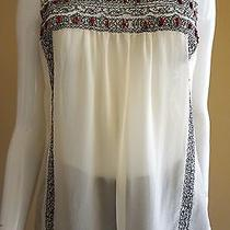 Price Reduced  Joie Silk Blouse Size S Photo