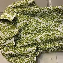 Price Reduced Magaschoni  Collection Green White Blouse Photo