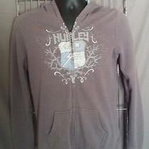 Price Reduced/men's Hurley Zipup Hooded Sweatshirt Photo