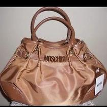 Priced to Sell Fast  Authentic Moschino Coffee Bag Photo