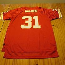 Priest Holmes Kansas City Chiefs Short Sleeve Football Jersey Youth Xl 18-20 Photo
