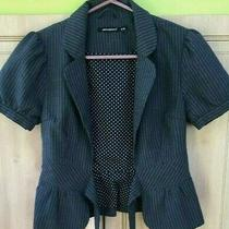 Primark  Atmosphere Very Elegant Size 8 Jacket Blazer Grey Excellent Condition Photo