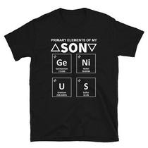 Primary Elements of My Genius Son T-Shirt Photo