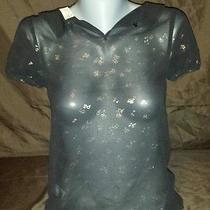 Princess by Vera Wang See Through Shirt Womens Size Xs Photo