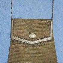 Princess Mary Mesh Fold-Over Purse - Marked Whiting & Davis - German S... Lot 57 Photo
