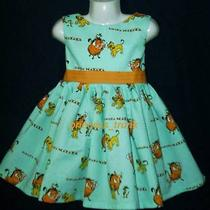 Princesstrunk Licensed Disney Lion King Dress Rared Custom Sz 12m-14yrs Photo