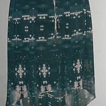 Princess Vera Wang Hi Low Tie Dye  Skirt Sheer Lined Size Xs Ec Photo