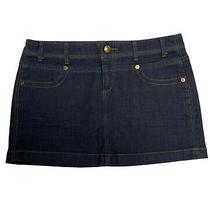 Princess Vera Wang Juniors Mini Skirt Jean Blue Size 7 Photo