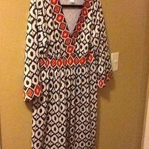 Printed Empire Waist Tribal Print Tunic Dress Size Large Avon Photo