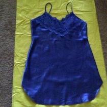 Private Luxuries Blue Baby Doll Nightie - Size Large Photo