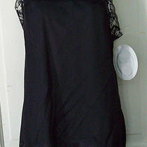 Private Treasures by Avon Black Lacy Nightie Size Large Nwt Photo