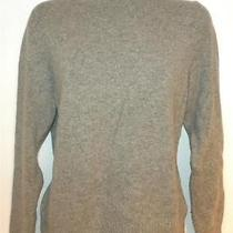 Prize Gray 50% Lambs Wool Women's Turtle Neck Sweater Size L Photo