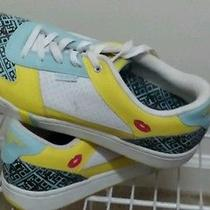 Pro-Keds Women's Size 11 M Multicolor Yellow/white Athletic Shoes Very Cute Photo
