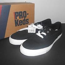 Pro Keds Womens Canvas Shoe Black Athletic Tennis Choose Size 5m New Photo