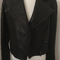 Proenza Schouler Black Leather Motorcycle Jacket- Nwt Photo