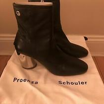 Proenza Schouler Lamy Metal Heel Booties Size 6 (Review Listing) Photo
