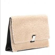 Proenza Schouler Large Lunch Bag Shearling Clutch Photo
