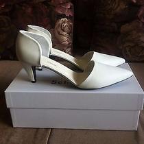 Proenza Schouler Shoes Sz12 Sz42 950 White Medium Heel Nib  Shoes Photo