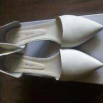 Proenza Schouler Shoes Sz12 Sz42 950 White Medium Heel Nib Wedding Shoes Photo