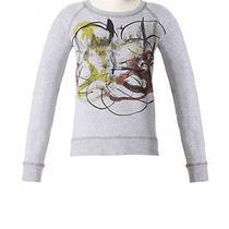 Proenza Schouler Target Neiman Marcus Artistic Paint Print Crewneck Sweatshirt  Photo