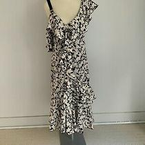Proenza Schouler Us6 Uk10 Pink and Black Off the Shoulder Silk Dress Photo