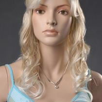 Professional High Quality Women Kanekalon Wig Costume Fancy Dress Party  Girlnew Photo