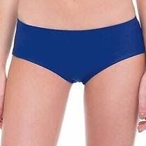 Profile Blush by Gottex Blue Womens Swim Large L Boy Short Bikini Bottom 48 650 Photo
