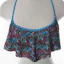 Profile Blush by Gottex Multi-Color Bikini Top Size L New With Tags Photo