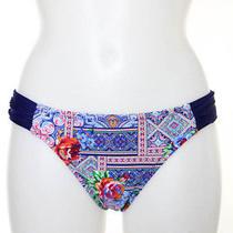 Profile Blush by Gottex Multi-Color Print Bikini Bottoms Size S New With Tags Photo