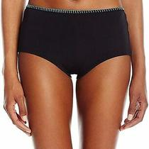Profile Blush by Gottex Womens Swimwear Black Size Large L Bikini Bottom 48 417 Photo