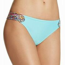 Profile Blush by Gottex Womens Swimwear Blue Size Small S Bikini Bottom 48 142 Photo