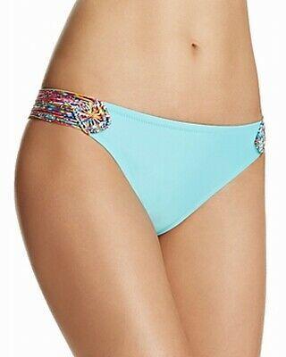 Profile Blush by Gottex Womens Swimwear Blue Size Small S Bikini Bottom $48 #142 Photo