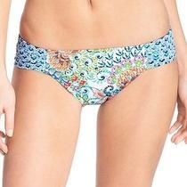 Profile Blush New Blue Women's Size Small S Bikini Bottom Swimwear 36 454 Photo