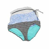 Profile Blush Women Blue Swimsuit Bottoms Xl Photo