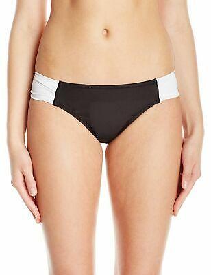Profile Blush Women's Swimwear Black Size Medium M Bikini Bottom $44 #522 Photo