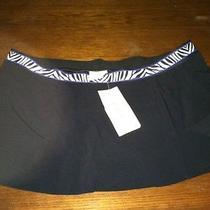 Profile by Gottex Swim Skirt Womens 14 Black Nwt Macys  Photo