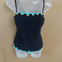 Profile Gottex Top Swimsuit for Ladies Solid black& Other Colors Thin Straps10 Photo