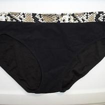 Profile Gottex Under My Skin Swimsuit Bikini Bottom Size 14 Photo