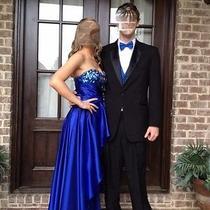 Prom Dress Blue (Worn Once) Brand Blush Prom Photo