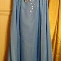 Prom Dress Blush Prom by Alexia Ice Blue Color Sz 8 Worn Once Pd 325.00 Photo
