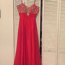 Prom Dress ( Blush Prom by Alexia Size 12 Red ) Photo