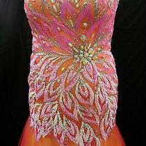 Prom Dress Size 14 Blush Brand Mermaid Photo