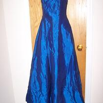 Prom Formal Fancy Evening Gown Dress W/matching Scarf by Roberta Size 3/4  Photo