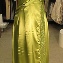 Prom-Lafee- Style E4024- Size 12-Honey Dew   Photo